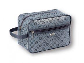 TopChoice Kosmetická taška Geometric - ŠEDÁ 93722