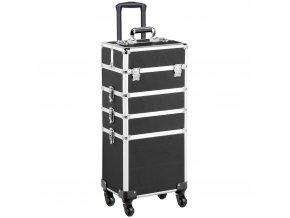 Kosmetický kufr LUXURY 4v1 - černý