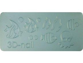 3D Šablóna - Tropical Fish