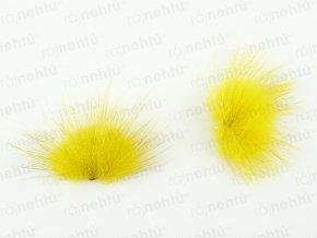 Brmbolčeky 2 ks - žlté