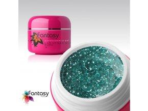 Farebný UV gél Fantasy Glitter 5g - Riviera