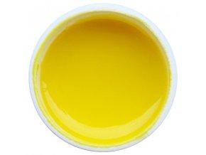 Farebný UV gél GABRA 7,5 ml - farebný citrónový