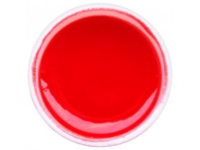 Farebný UV gél GABRA 7,5 ml - farebný červený