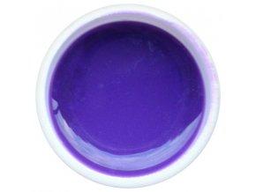 Farebný UV gél GABRA 7,5 ml - farebný lila