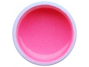 Farebný UV gél GABRA 7,5 ml - kovový ružový