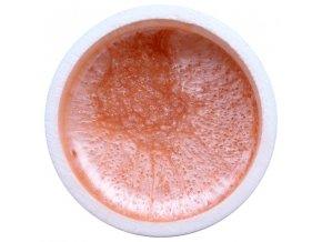 Farebný UV gél GABRA 7,5 ml - perleťový broskyňa