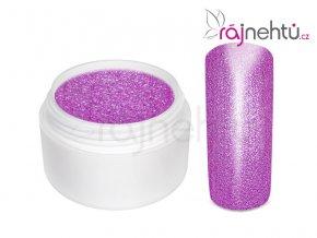 Farebný UV gél GLIMMER - Neon Purple - 5ml