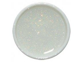 CEDRO sole - Farebný UV gél GLITTER - Biely lesk - 5 ml