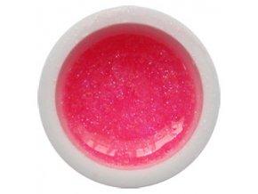 CEDRO sole - Farebný UV gél GLITTER - Ružový - 5 ml