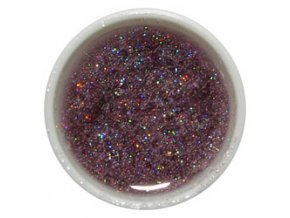 CEDRO sole - Farebný UV gél GLITTER - Svetlo fialový - 5 ml