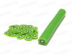 FIMO zdobenie - tyčinka, motív ovocie - kiwi