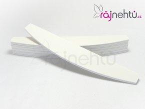 Pilník 100/180  MOON - biely