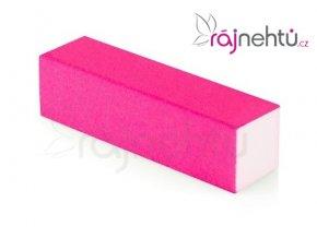 Pilník blok farebný - neón ružový