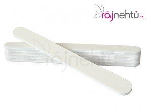 Pilník na nechty rovný 100/180 - biely