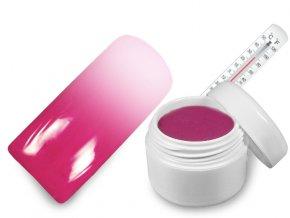 Raj nechtov - Farebný UV gél THERMO - magenta/white - 5 ml