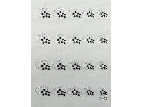 Samolepky na nechty 3D - séria CSK6