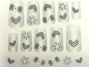Samolepky na nechty 3D - séria K1