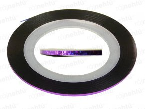 Zdobiaca páska - glitter fialová