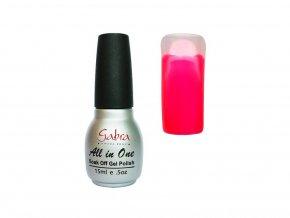 GABRA UV Step lak 3v1 - Neon ružová tmavá