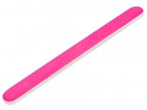Pilník rovný neón pink/white 180/240