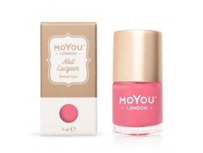 Pečiatkovací lak na nechty - Sweet Lips 9 ml