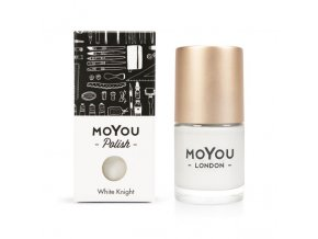 Pečiatkovací lak na nechty - White Knight 15 ml