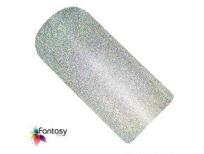 UV gél lak Fantasy Holographic 12ml - Silver