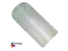 UV gél lak Fantasy Holographic 12ml - Silver