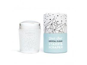 MoYou pečiatka na nechty XL - Crystal Clear