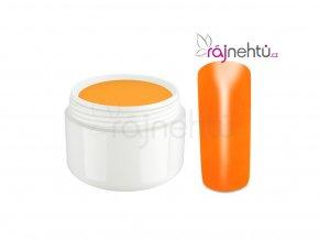Raj nechtov Farebný UV gél NEON - Orange - Oranžový 5ml