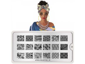 africa nail art design 03