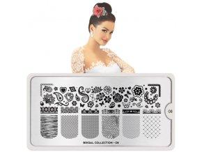 bridal nail art design 08