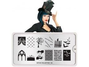 gothic nail art design 04