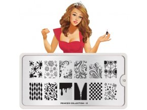 princess nail art design 13
