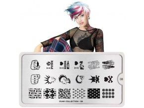 punk nail art design 08