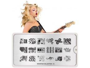 rockstar nail art design 12