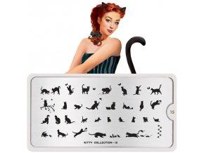 kitty nail art design 15