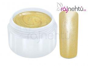 Raj nechtov Farebný UV gél METALLIC - Cream 5ml