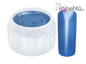 Raj nechtov Farebný UV gél METALLIC - Blue 5ml