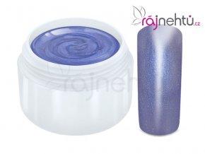 Raj nechtov Farebný UV gél METALLIC - Gentian 5ml