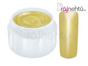 Raj nechtov Farebný UV gél METALLIC - Gold 5ml