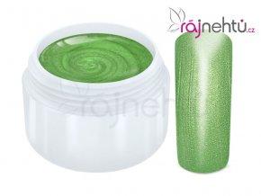 Raj nechtov Farebný UV gél METALLIC - Green 5ml