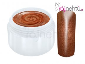 Raj nechtov Farebný UV gél METALLIC - Copper 5ml