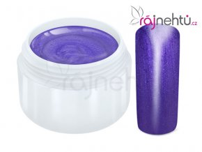 Raj nechtov Farebný UV gél METALLIC - Violet 5ml
