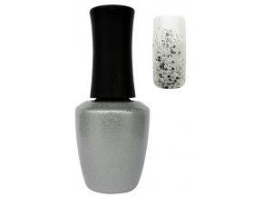 CEDRO UV gel lak 14 ml - Glitter diamond silver