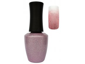 CEDRO UV gel lak 14 ml - Glitter shiny pink