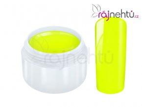 Raj nechtov Farebný UV gél NEON - Lemon - Citrónový 5ml
