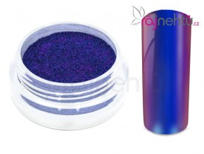 Chrómový pigment Flip Flop - cyan/purple 0,5g