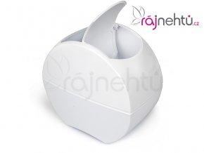 Kozmetický odpadkový kôš - biely