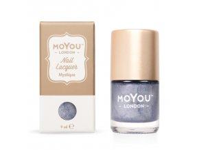 Pečiatkovací lak na nechty - Mystique 9 ml